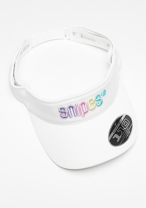SNIPES VIsor Multi white