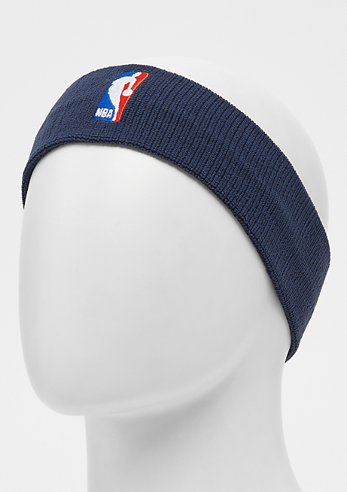 NIKE Headband NBA college navy/college navy