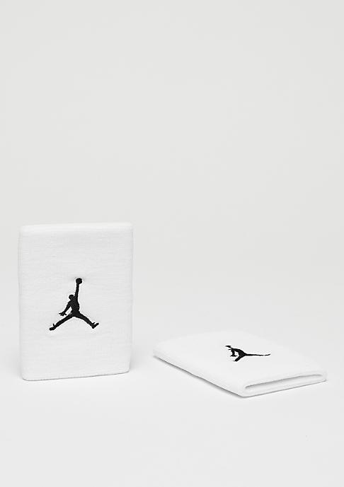 JORDAN Jumpman Wristband white/black