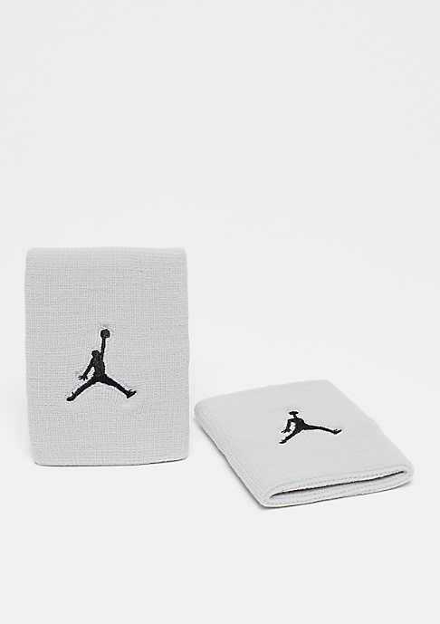 JORDAN Jumpman Wristband wolf grey/black