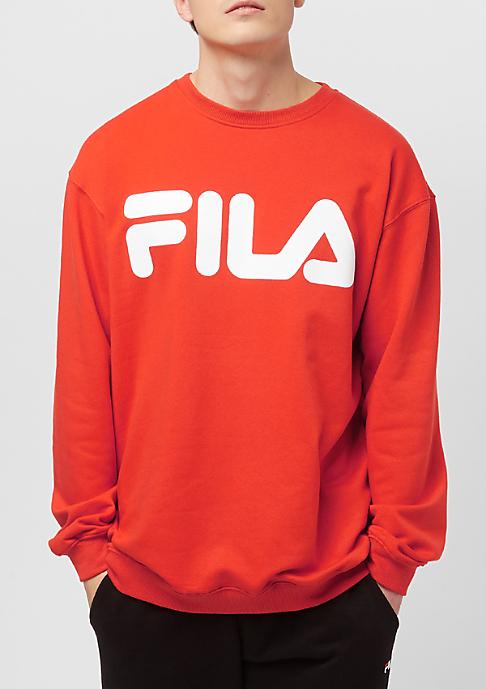 Fila Urban Line Sweat Classic Logo Pureed Pumpkin