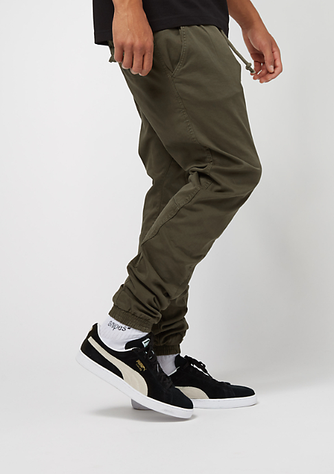 Urban Classics Stretch Jogging Pants olive