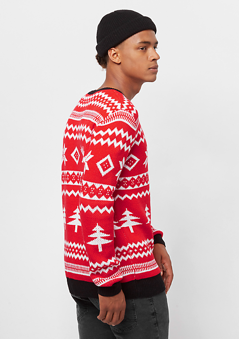 Urban Classics Holidays Christmas red/white