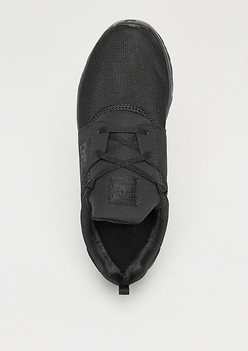 DC HEATHROW M SHOE 3BK black/black/black