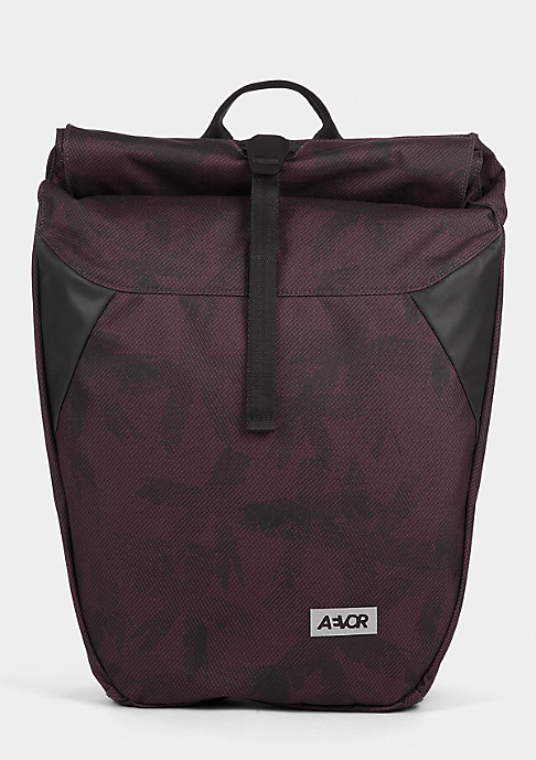 Aevor Rolltop Palmred red/black