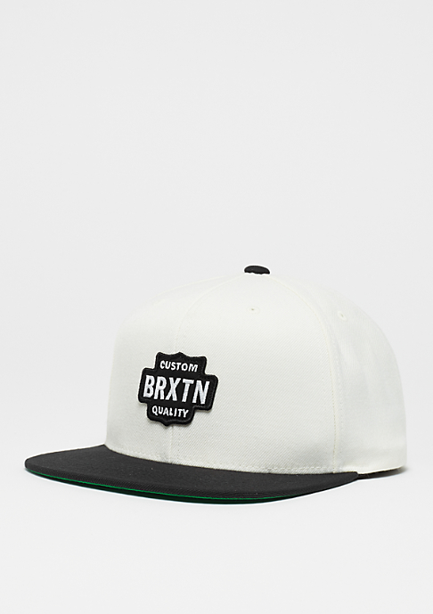 Brixton Garth off white/black
