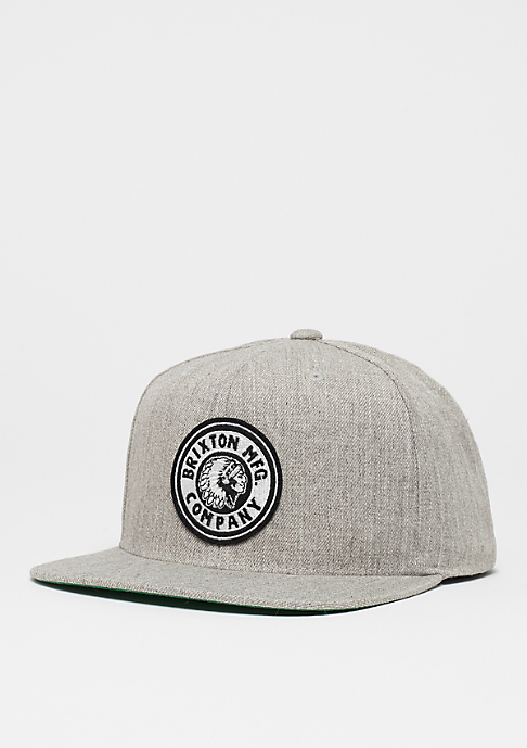 Brixton Rival light heather grey/off white