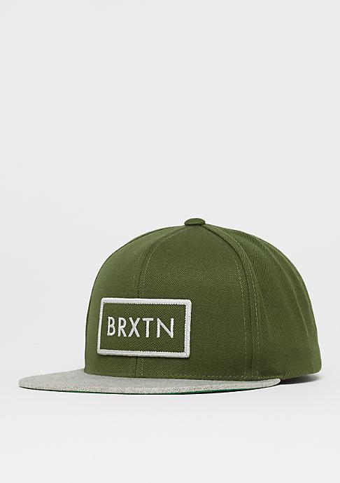 Brixton Rift olive/heather grey