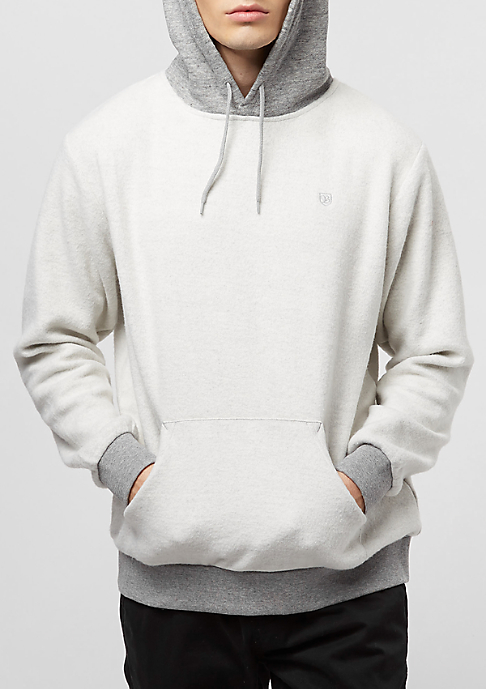 Brixton Reverse Fleece heather grey