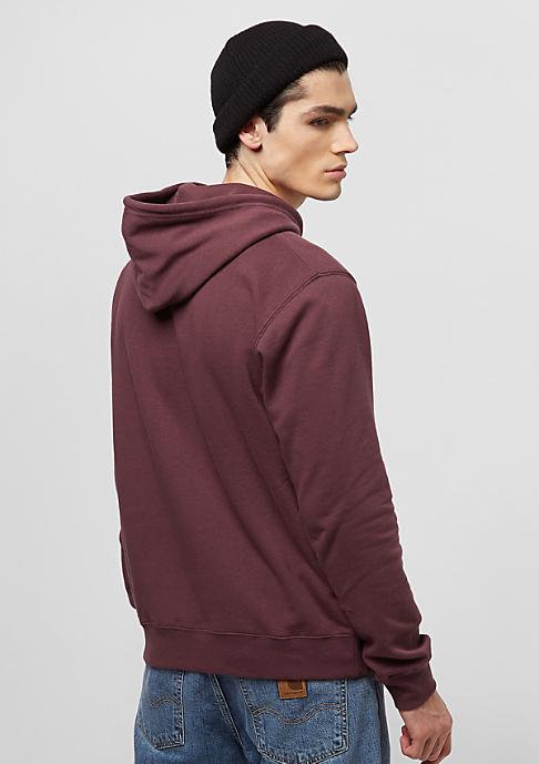 Brixton Stith Fleece maroon