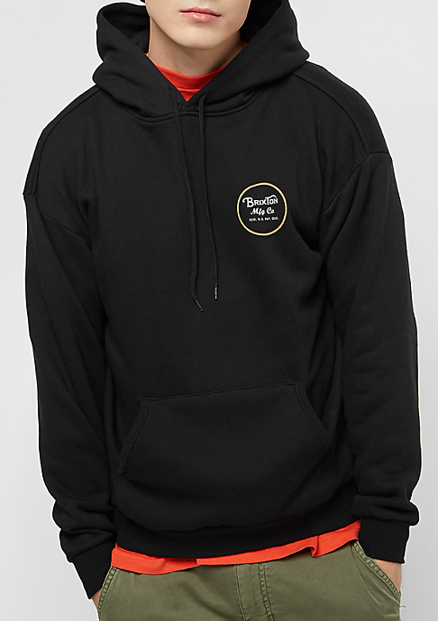 Brixton Wheeler Fleece black/white