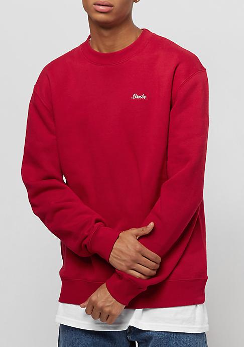 Brixton Westchester Fleece red