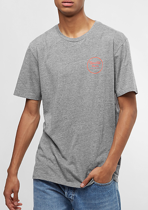 Brixton Wheeler III Prem heather grey/orange