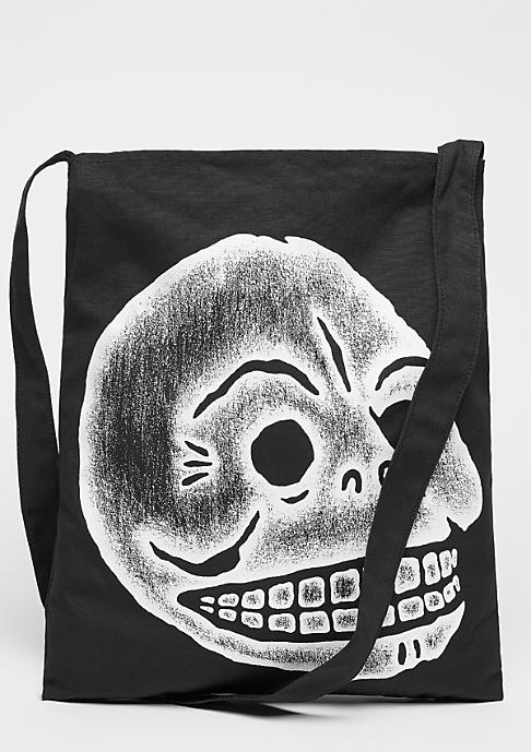Cheap Monday One Tote Pencil Skull black