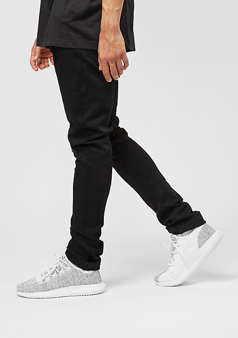 Urban Classics Slim Fit Knee Cut Denim black