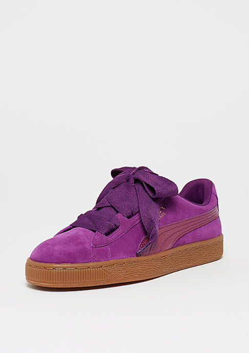 Puma Suede Heart SNK dark purple-dark purple