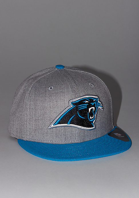 New Era 59Fifty Reflective Heather NFL Carolina Panthers grey