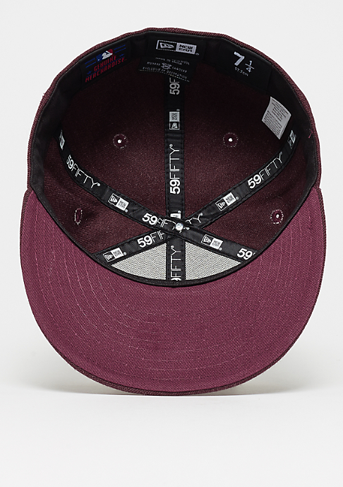 New Era 59Fifty Seasonal Heather MLB Boston Red Sox heather maroon