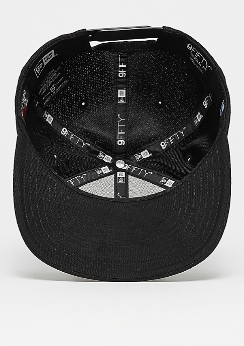 New Era 9Fifty Blacked Out NBA Chicago Bulls black