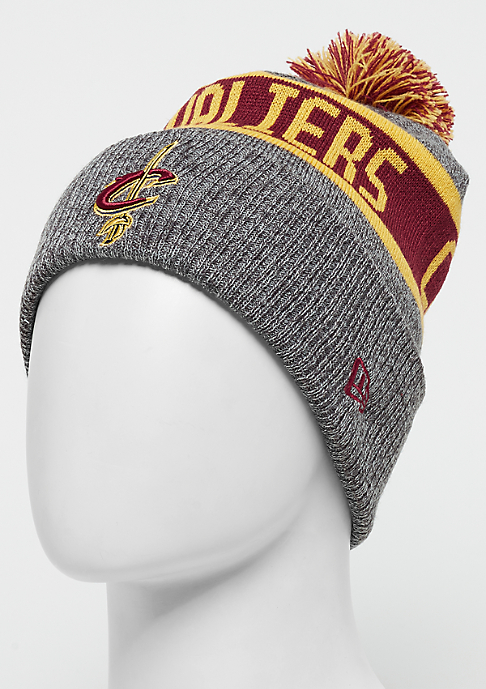 New Era Marl Knit NBA Cleveland Cavaliers grey/official