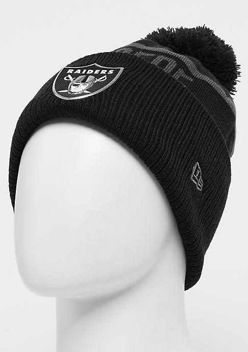 New Era Coll Knit NFL Oakland Raiders black
