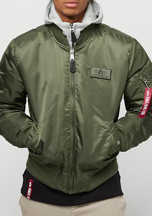 Alpha Industries MA-1 D-Tec dark green
