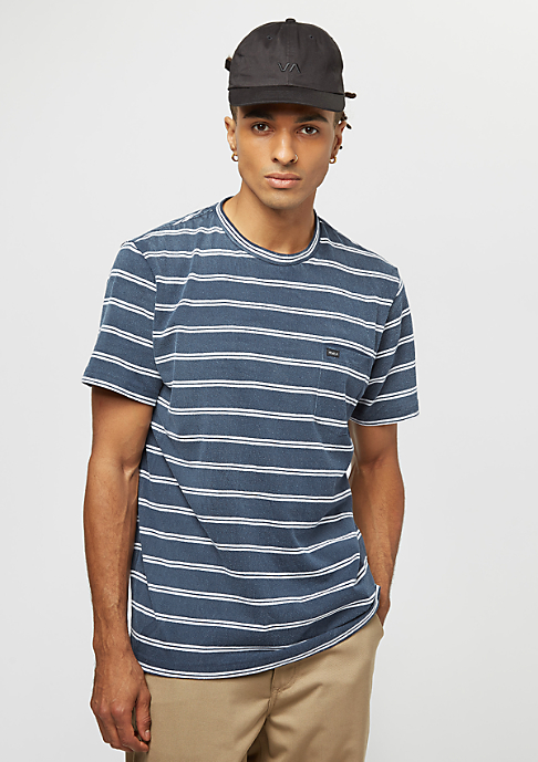 RVCA Arrow Crew federal blue