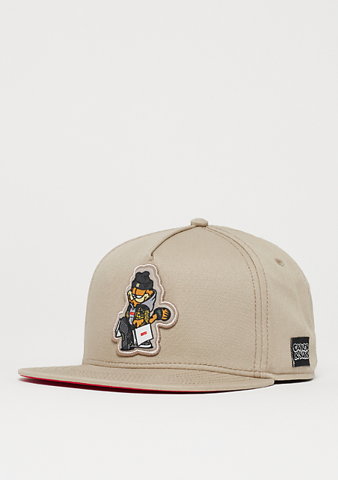 Cayler & Sons WL Hyped Garfield Cap sand/red