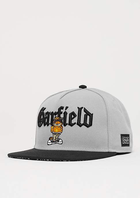 Cayler & Sons WL Left Side Garfield Cap grey/black