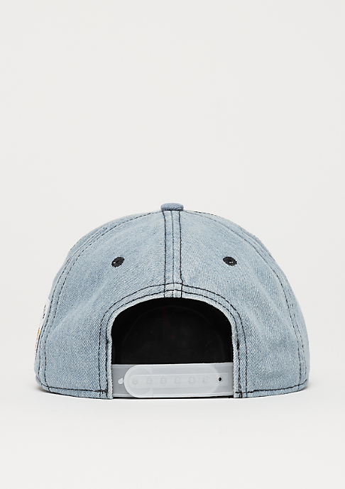Cayler & Sons WL Garfield Cap washed blue denim