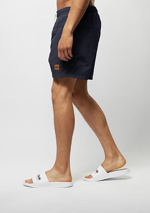 Urban Classics Block Swim Shorts navy/navy