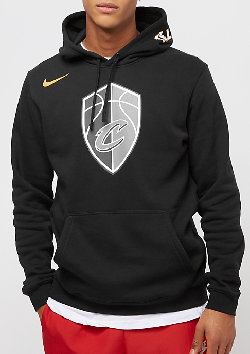 NIKE Cleveland Cavaliers Hoodie Po FLC Club black