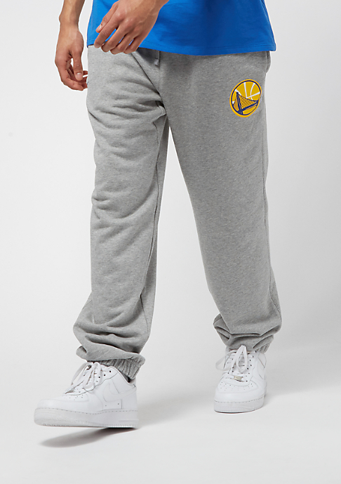 NIKE Basketball NBA Pant Golden State Warriors FLC Club dk grey heather/rush blue