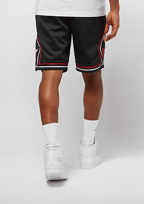 Commander Swingman Chez Nba Nike Short Bulls {2} Blackwhite Chicago f1rIfqA