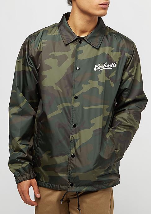 Carhartt WIP Coach camo combat green/white