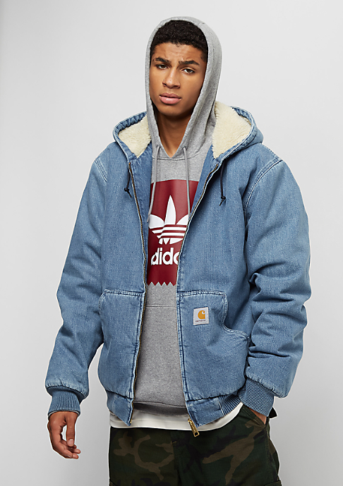 Carhartt WIP Active blue stone washed