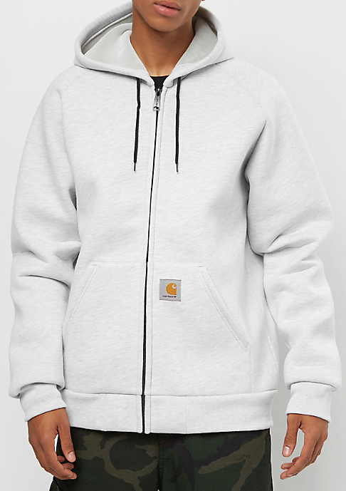 Carhartt WIP Car-Luxed Hooded ash heather/grey heather