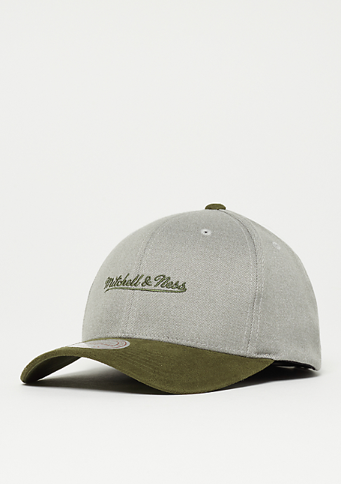Mitchell & Ness Hyper Tech Wool Crown grey/olive
