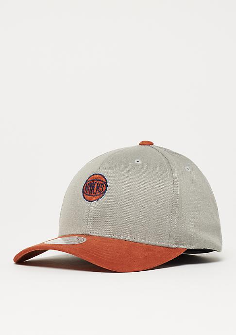 Mitchell & Ness Hyper Tech Wool Crown NBA New York Knicks grey/orange