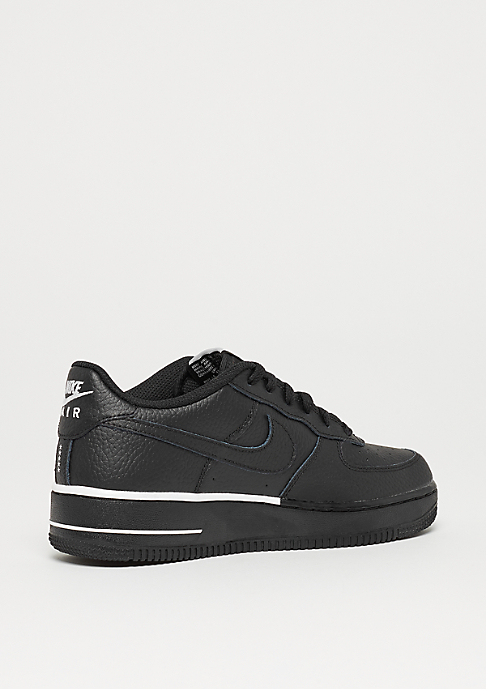NIKE Air Force 1 (GS) black/black-white