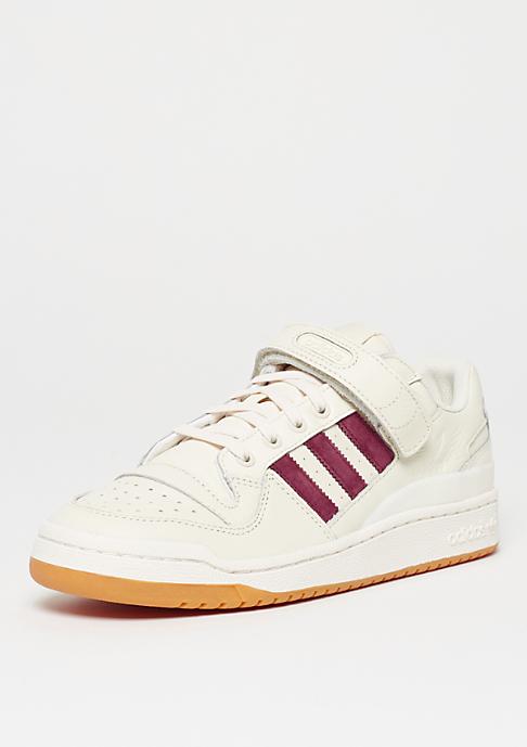 adidas Forum Lo chalk white/collegiate burgundy/gum