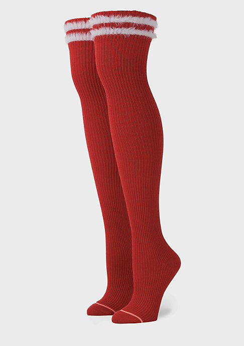 Stance Fenty by Rihanna Fur Fatale red