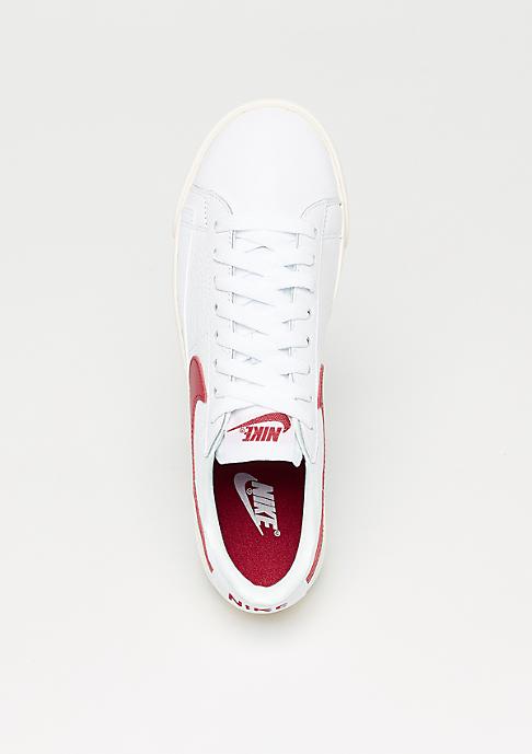 NIKE Wmns Blazer Low Premium white/speed red-white-sail