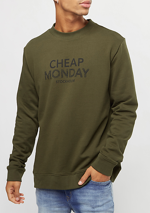 Cheap Monday Worth Doodle Logo dark green