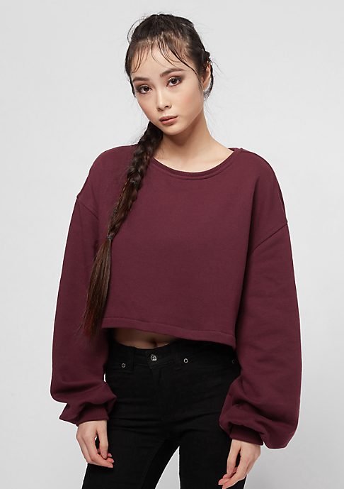 Urban Classics Oversized Short Crewneck port