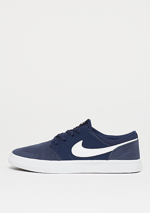 NIKE SB Solarsoft Portmore II midnight navy/white/black
