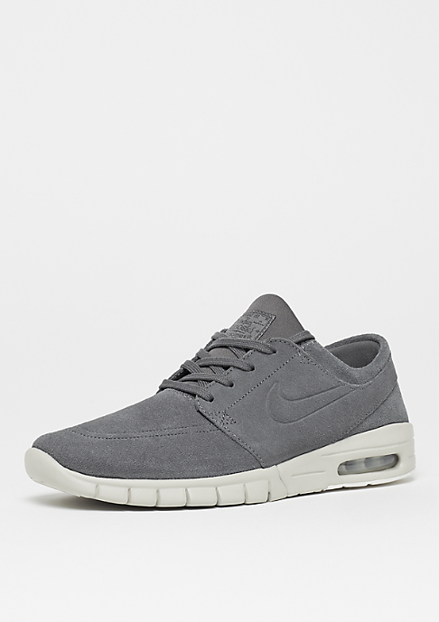 NIKE SB Stefan Janoski Max Leather dark grey/dark grey/light bone