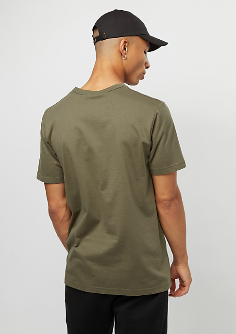 SNIPES Basic Logo olive night