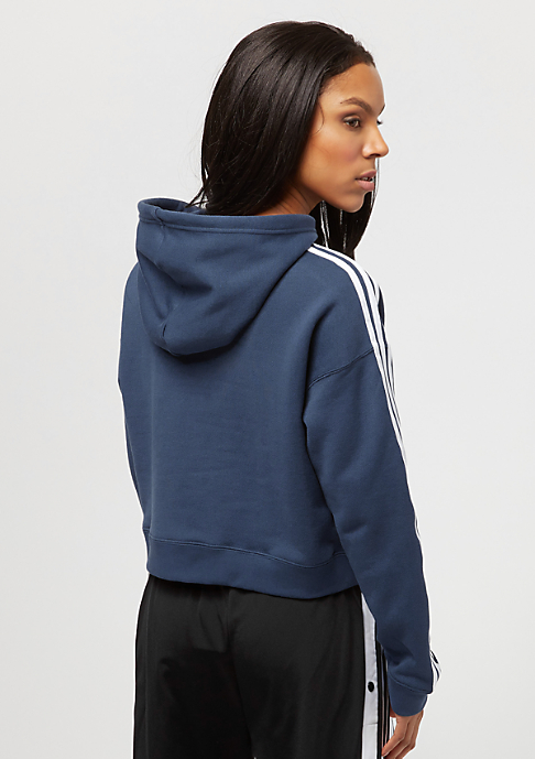 adidas Cropped Hoodie mineral blue s16