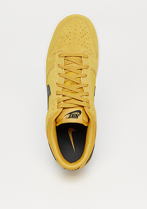 NIKE Dunk Low mineral yellow/black/white